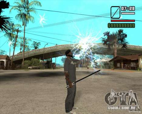 Sasuke sword para GTA San Andreas por diante tela