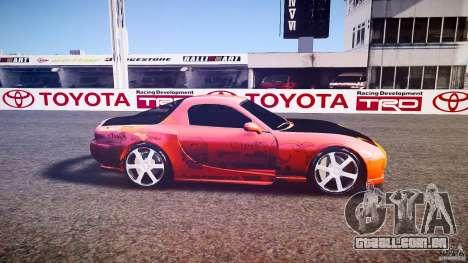 Mazda RX-7 ProStreet Style para GTA 4 esquerda vista