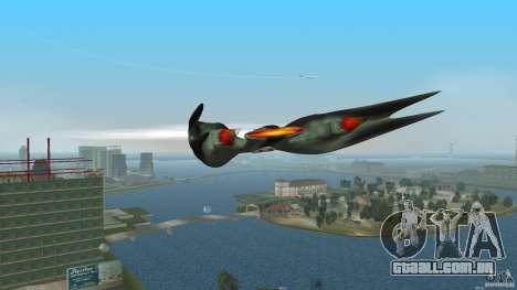 VX 574 Falcon para GTA Vice City deixou vista