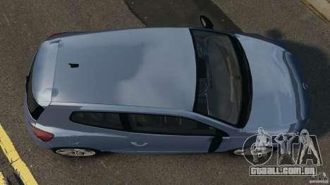 Volkswagen Scirocco R v1.0 para GTA 4 vista direita