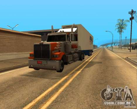Western Star 4900EX v 0.1 para GTA San Andreas