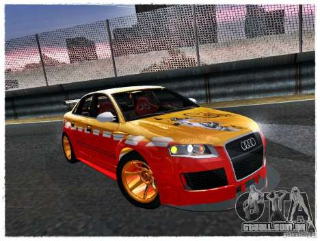 Audi RS4 Calibri-Ace para GTA San Andreas