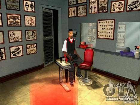 Corrigir animações faciais para GTA San Andreas terceira tela