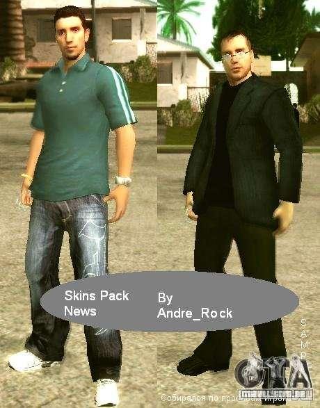 Notícias de Pac pele para SAMP RP para GTA San Andreas