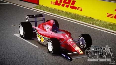 Ferrari Formula 1 para GTA 4 vista de volta