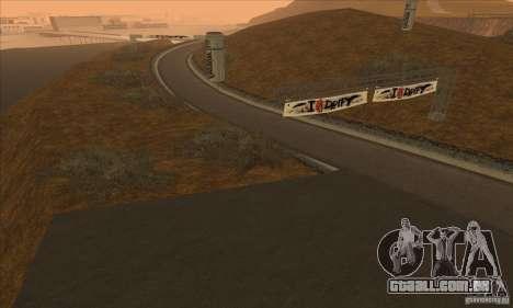 A rota do NFS Prostreet para GTA San Andreas terceira tela