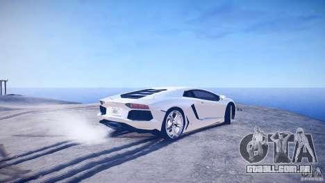 Lamborghini Aventador LP700-4 v1.0 para GTA 4 traseira esquerda vista