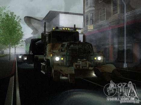 Armored Mack Titan Fuel Truck para GTA San Andreas