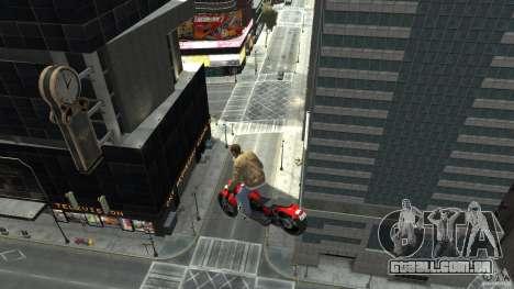 The Lost and Damned Bikes Nightblade para GTA 4 vista direita