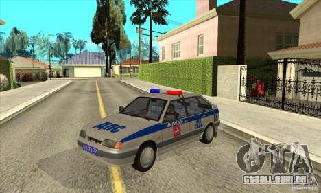 DPS DE ВАЗ 2114 para GTA San Andreas