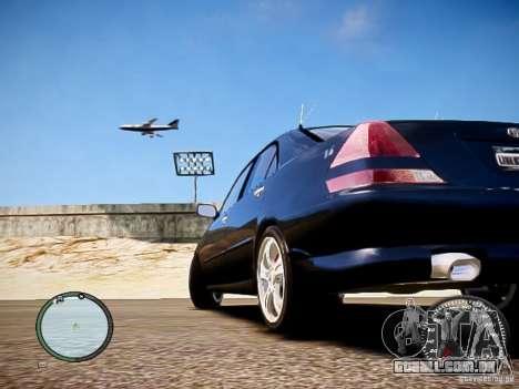 TOYOTA MARK II GRANDE HD para GTA 4 esquerda vista
