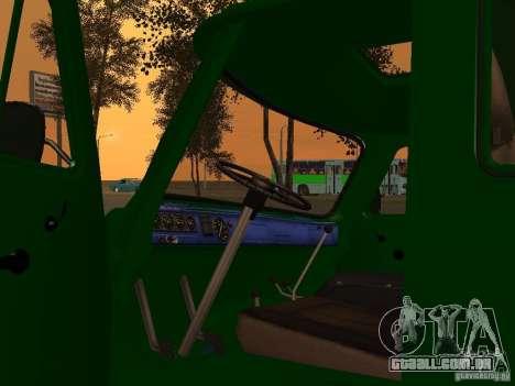 UAZ 39094 para GTA San Andreas vista traseira