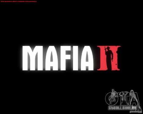 Telas de carregamento de Mafia 2 para GTA San Andreas quinto tela