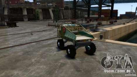 Protótipo de Golias UAZ para GTA 4 vista direita