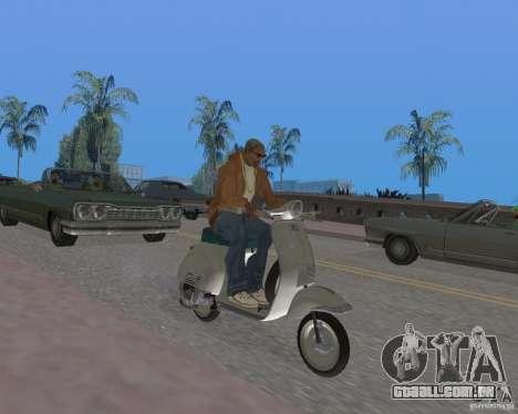 Vespa N-50 para GTA San Andreas vista direita