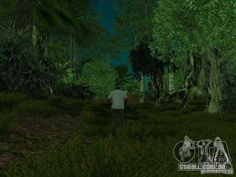 Ilha tropical para GTA San Andreas nono tela