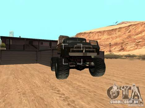 Walton Monster para GTA San Andreas vista direita