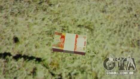 Dinheiro indonésio para GTA 4