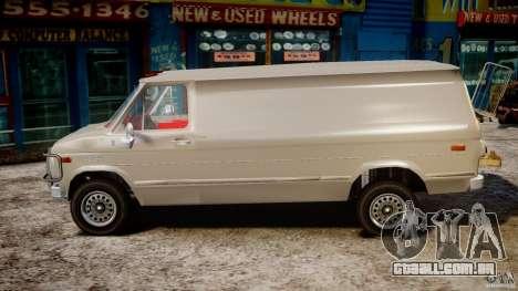 Chevrolet G20 Vans V1.1 para GTA 4 esquerda vista