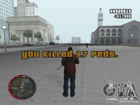 MASSKILL para GTA San Andreas