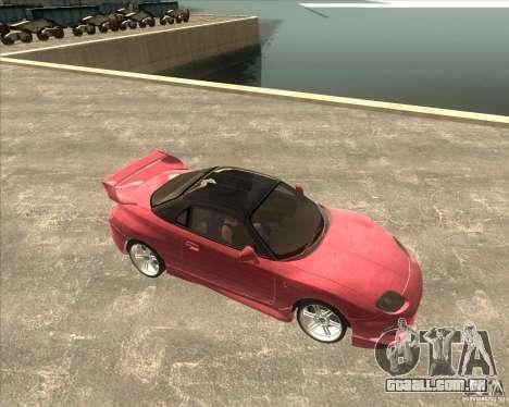 Mitsubishi FTO VeilSide para GTA San Andreas traseira esquerda vista