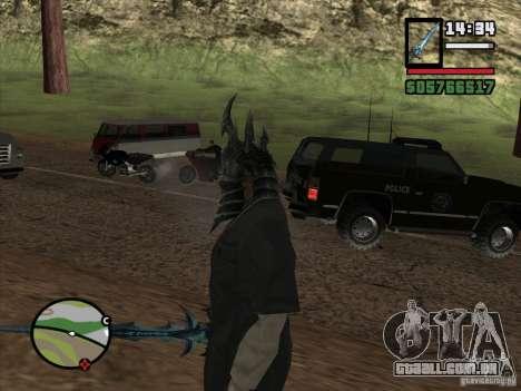 Capacete Ner Zula para GTA San Andreas terceira tela