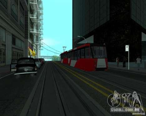 LM-2008 para GTA San Andreas traseira esquerda vista