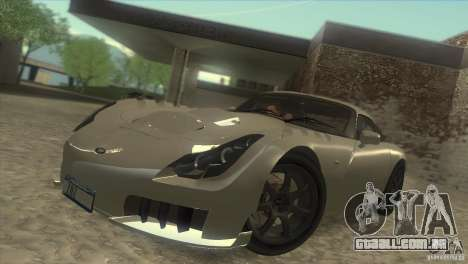 Shine Reflection ENBSeries v1.0.1 para GTA San Andreas por diante tela