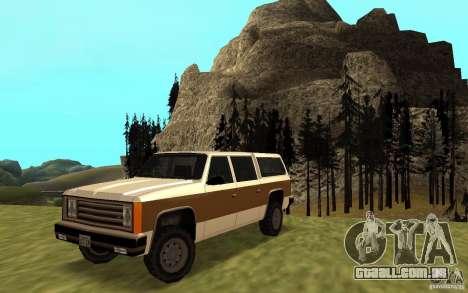 Um civil do FBI Rancher para GTA San Andreas
