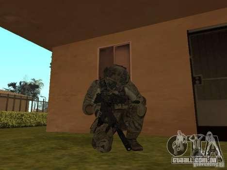 M4A1 com ACOG de CoD MW3 para GTA San Andreas segunda tela