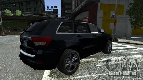 Jeep Grand Cherokee STR8 2012 para GTA 4 esquerda vista
