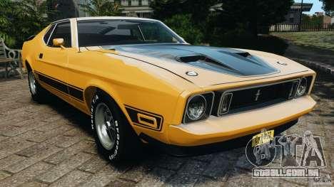 Ford Mustang Mach 1 1973 para GTA 4