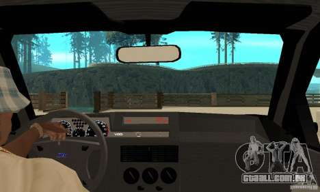 Fiat Tipo 2.0 16V 1995 para GTA San Andreas vista direita
