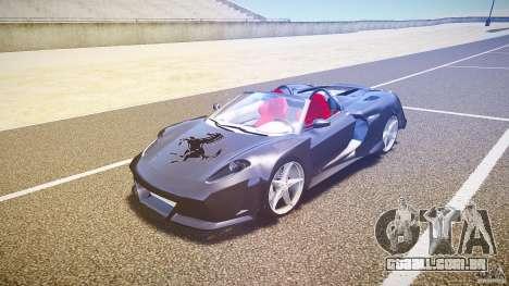 Ferrari F430 Extreme Tuning para GTA 4 esquerda vista