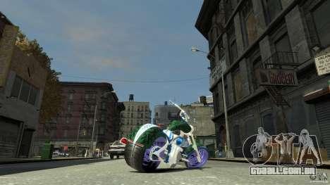 HellFire Chopper para GTA 4 esquerda vista