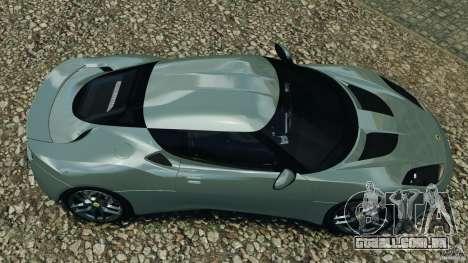 Lotus Evora 2009 v1.0 para GTA 4 vista direita