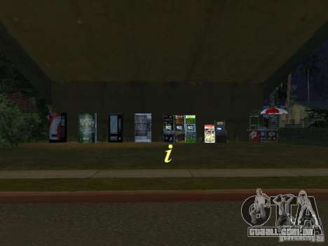 A nova Grove Street para GTA San Andreas sexta tela