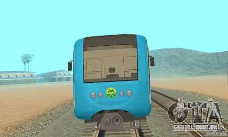 Metro 81-7021 para GTA San Andreas esquerda vista