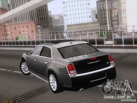 Chrysler 300 Limited 2013 para GTA San Andreas vista interior