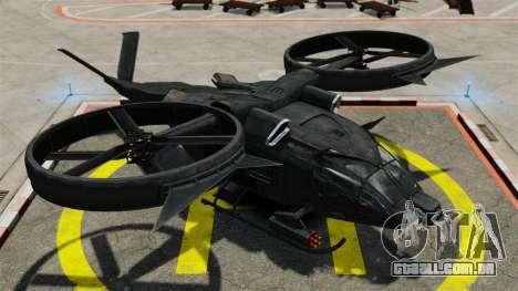 Helicóptero de transporte Samson SA-2 para GTA 4