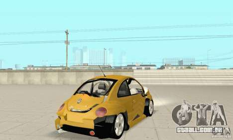 Volkswagen New Beetle GTi 1.8 Turbo para GTA San Andreas vista superior