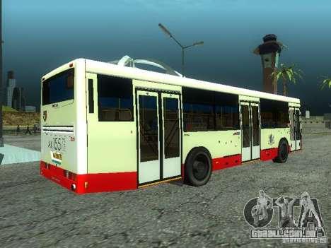 Nefaz 5299 10-32 para GTA San Andreas esquerda vista