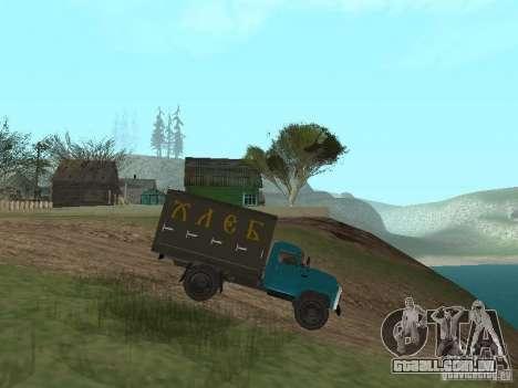 GAZ 52 para GTA San Andreas esquerda vista