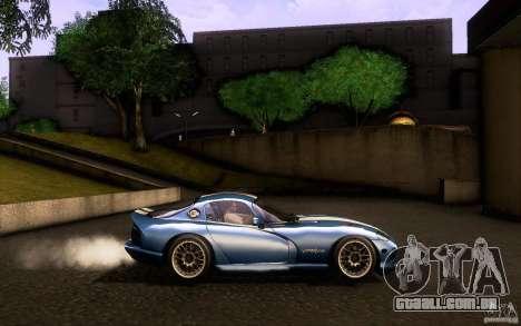 Dodge Viper GTS Coupe TT Black Revel para GTA San Andreas vista interior