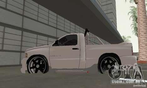 Dodge Ram SRT-10 Tuning para GTA San Andreas vista direita