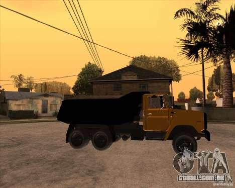 ZIL MMZ 4516 para GTA San Andreas vista direita
