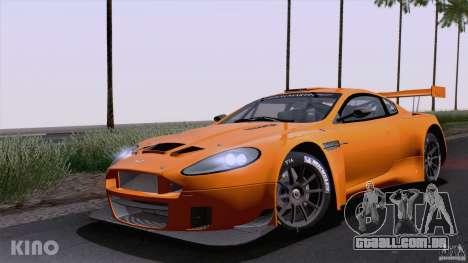 Aston Martin Racing DBRS9 GT3 para GTA San Andreas traseira esquerda vista