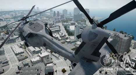HH-60G Pavehawk para GTA 4 vista interior