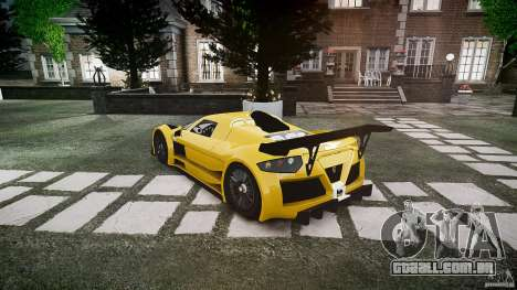 Gumpert Apollo Sport v1 2010 para GTA 4 vista direita