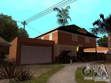 Casa de CJ em Russo para GTA San Andreas segunda tela